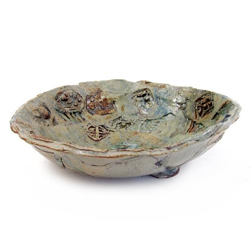 Meg Campbell pottery photo.