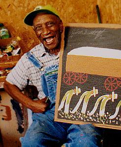Jimmy Lee Sudduth self-taught painter