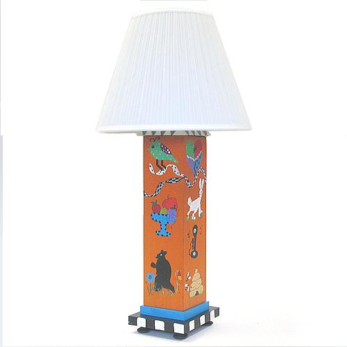Art table lamp by Kathy and Bob Kimmel