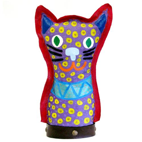Cat sculpture by Chris Lewallen