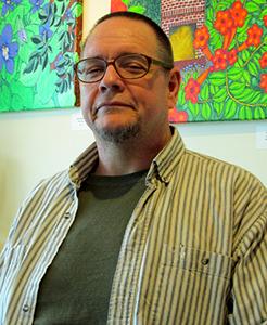 Mark Stevenson self-taught painter