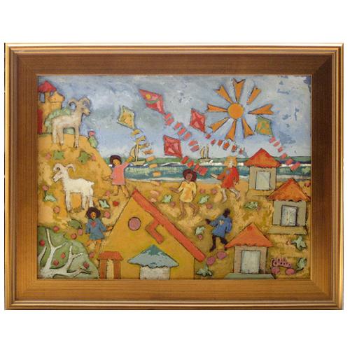 "Rosemary Otto painting ""Kites"""