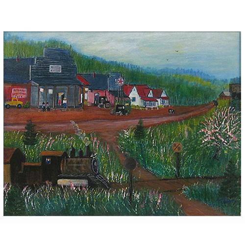 Amy Payne painting Alto, GA