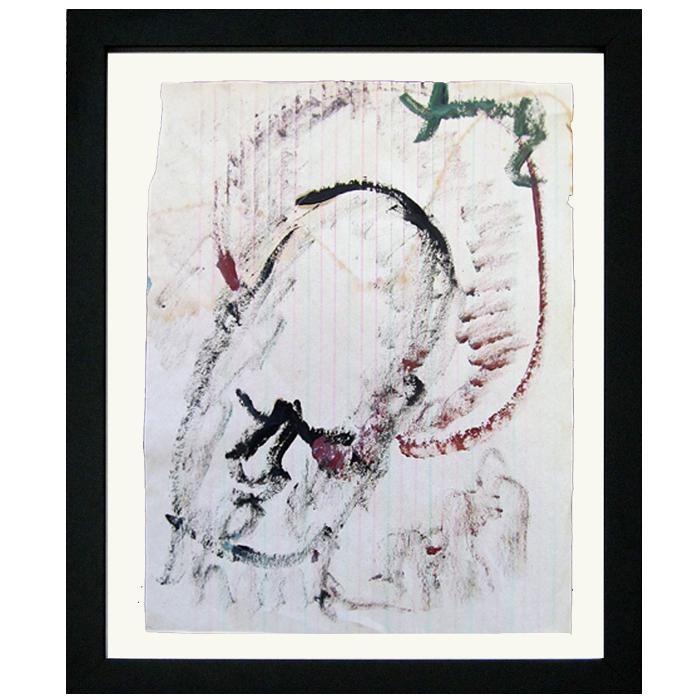 "Purvis Young artwork ""Saint"""