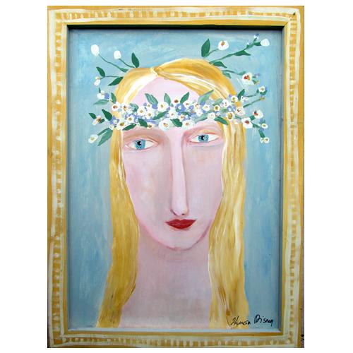 Theresa Disney portrait painting