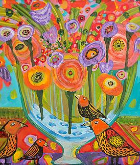 Theresa Disney thumbnail of a painting