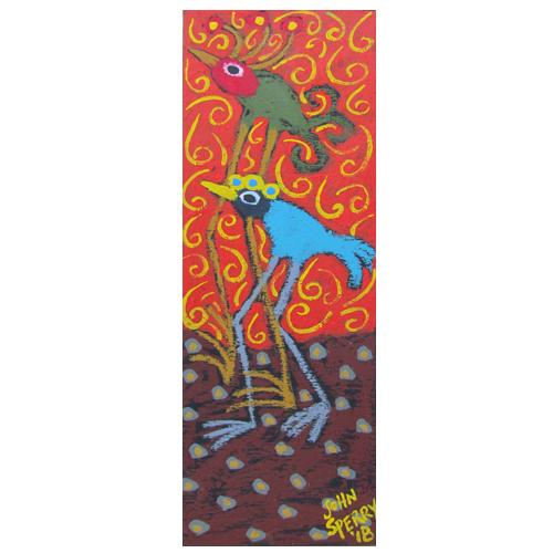 John Sperry folk art painting.