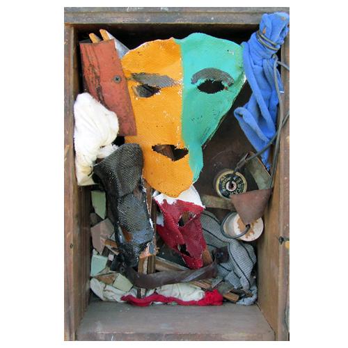 "Charlie Lucas Assemblage ""Spirit Box"""