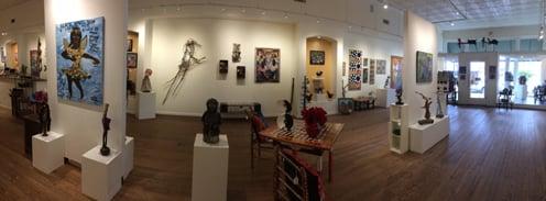 Inside Main Street Gallery, Clayton, GA